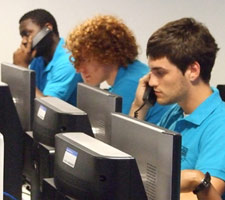 Kingston University's Clearing hotline operators are preparing to take calls from hundreds of students on A-level results day