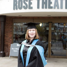 Graduate Cheryl Hudson
