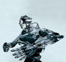 Kingston University student work CGi Robotxtra. Image courtesy of Darren Perianen, BSc Media Technology