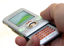 The Charm research will use technology such as mobile phones to feed back information on social activity.