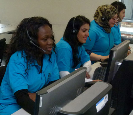 Kingston University's Clearing hotline operators have been hard at work since A-level results were released.
