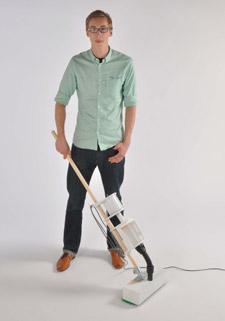 Ben Fursdon developed his Broo-ver idea after visiting a municipal tip.