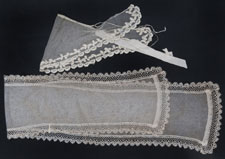 A lace and cap worn by Nightingale have survived from her time as a governor at St George's Hospital.