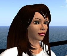 Cathy Walker is based in Arkansas and will use her avatar 'Padlurowncanoe Dibou' to make her presentation in Second Life.