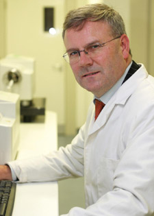 Professor Declan Naughton and his team from Kingston University spent five months developing the new blood test for vitamin D.
