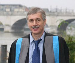 Kingston University's new Deputy Vice-Chancellor Dr David Mackintosh
