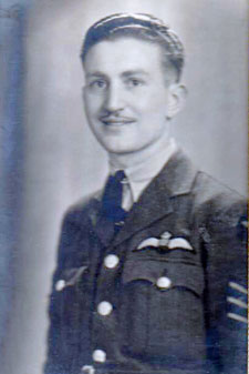Eric Carter as a 21-year-old pilot in 1941