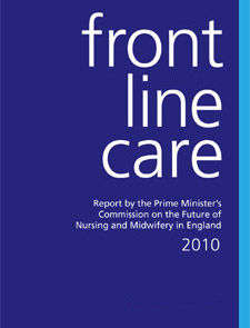 The report by the Prime Minister's Commission on the future of Nursing and Midwifery in England was launched in early March.