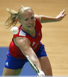 Gail first represented England in 1995 and scooped gold medals in the mixed doubles in the 2004 Athens Games. (c) Action Images
