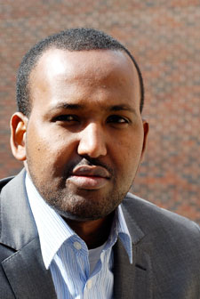 Jamal risked coming under fire in Somalia to get his award-winning footage and interviews.