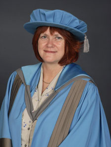 Jane Salvage has been named an Honorary Doctor of Science.
