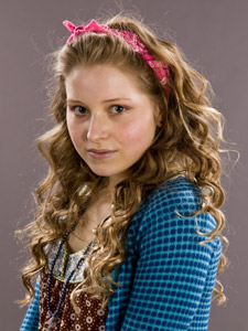 Jessie Cave beat 7,000 other hopefuls to land the role in JK Rowling's sixth instalment from the Harry Potter series.