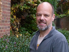 Geographer Dr Mike Smith is leading Kingston's involvement in the landscape database project.