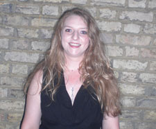 Lucy Mcneil came to Kingston as a mature student, aged 27, after working on the management side of running nightclubs.