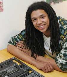 Luke Ngakane, creator of the 'Dictionary of Non-words'