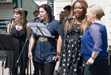 There will be lots of musical performances around the town as part of Universities Week.