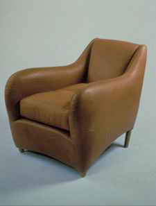 Matthew Hilton's Balzac Chair, which can be seen at London's Geffrye Museum.