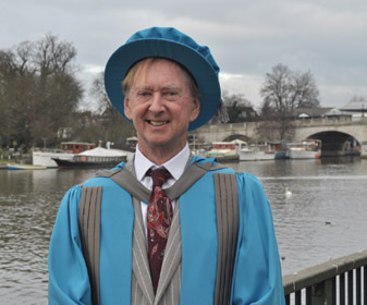 New Kingston University honorary graduate Professor John Oxford has criticised the handling of this year's flu outbreak.