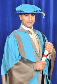Google's Head of Corporate Development Professor Anil Hansjee has accepted an honorary degree from Kingston University.