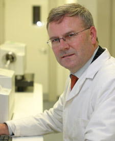 Professor Declan Naughton said the alert program could be used to monitor contaminated products.
