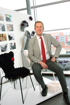 New Dean Steven Spier says Kingston University's reputation for top quality art and design education attracted him to the post.