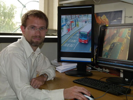 Dr James Orwell, from Kingston University's Digital Imaging Research Centre, led the initial development of the surveillance software.