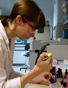 Various concentrations of the extracts were tested in the Kingston University laboratories.