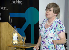 Professor Edith Sim marked the launch of Kingston University's new Faculty of Science, Engineering and Computing by delivering an inaugural lecture.