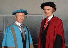Professor Andrzej Ordys, Head of Kingston University's School of Mechanical and Automotive Engineering, praised Mr Darnell for his work in industry.