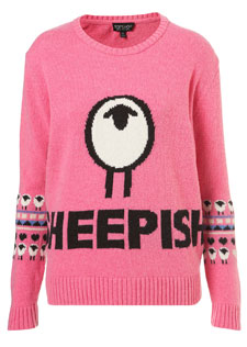 The Sheepish design was also snapped up by Topshop.