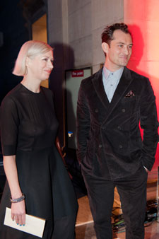Actor Jude Law presented the Turner Prize to Elizabeth Price. Image: Lucy Dawkins Tate Photography