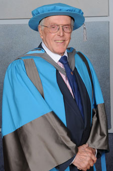 Lord Rix was named an Honorary Doctor of Letters in recognition of his services to theatre and disability rights.