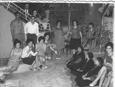 A photo of Mayada's family in the sixties inspired her to bring Bedouin heritage and pop culture together in the collection.