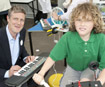 Zac Goldsmith launched the Smart Communities project at Fern Hill Primary School in Kingston.