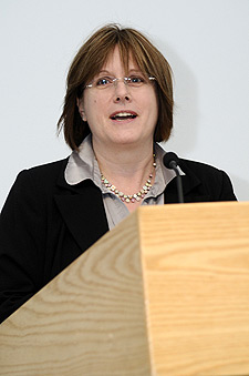 Kingston University's Executive Director of Enterprise Deborah Lock