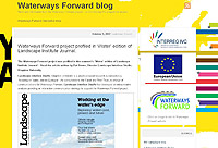 The Waterways Forward poster