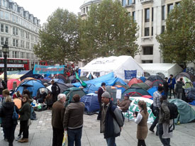 Occupy London movement