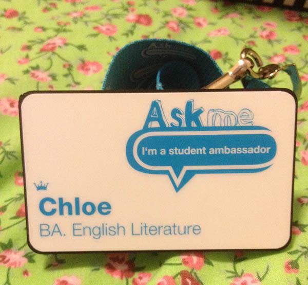 Student Ambassador badge