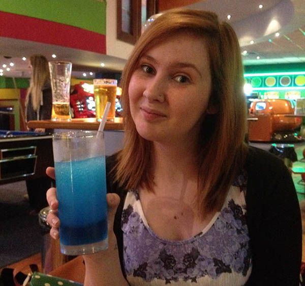 Bowling with slush puppies