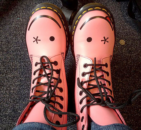 My Doc Martens brighten my day!