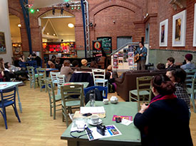Open Mic Night at Lincoln Drill Hall