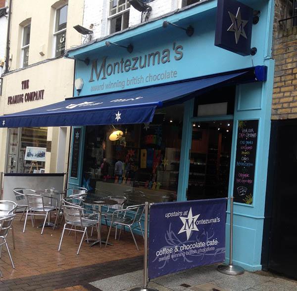 Montezumas shop
