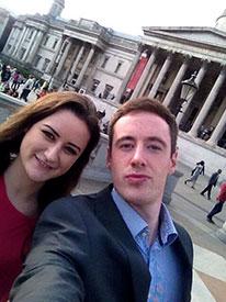 A London selfie