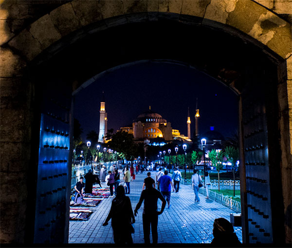 Just one of the beautiful sights of Istanbul