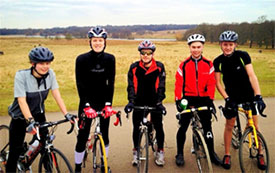 Out and about with the Cycling Club