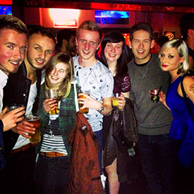 A great night out in Soho