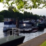 Walking along the Thames Path - one of favourite things to do on a summer's evening - Kingston University London