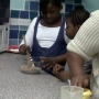 Cooking with the youth group - Kingston University London