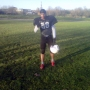 Me after football practice - Kingston University London
