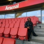 Working as a waitress at Emirates Stadium - Kingston University London